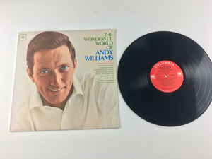 The Wonderful World Of Andy Williams Used Vinyl LP VG+ CL 2137