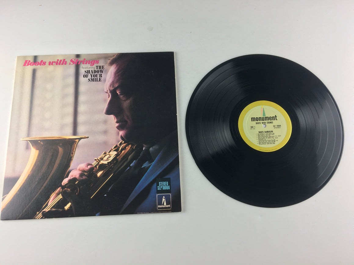 Boots Randolph Boots With Strings Used Vinyl LP VG+ SLP 18066