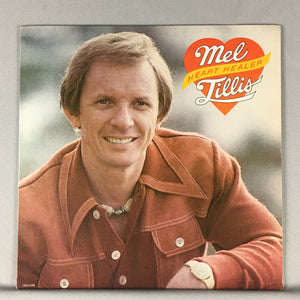 Mel Tillis ‎– Heart Healer Orig Press Used LP VG+