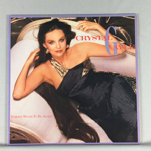 Crystal Gayle Nobody Wants To Be Alone Used LP VG+ 9 25154-1, 1-25154