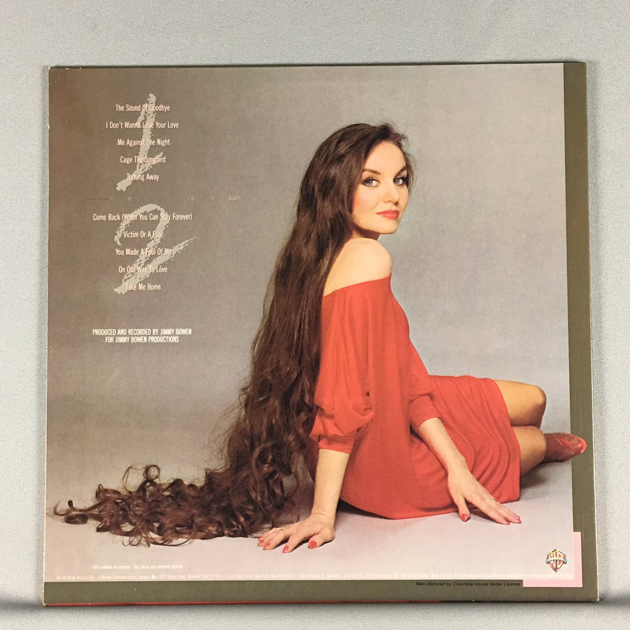 Crystal Gayle Cage The Songbird Used LP VG+ W1-23958