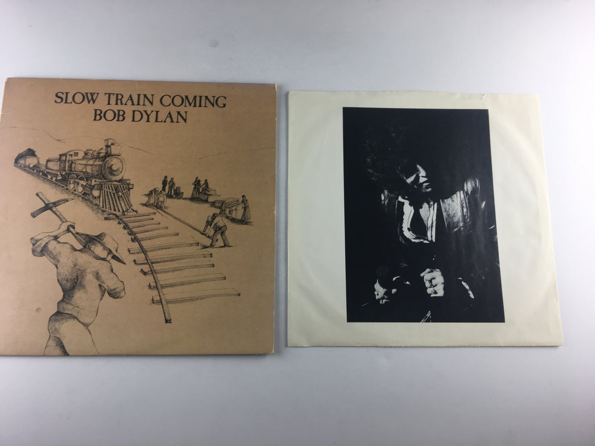 Bob Dylan Slow Train Coming Used Vinyl LP VG\G+ FC 36120