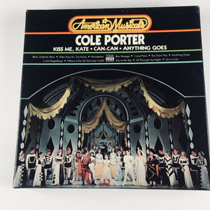 American Musicals - Cole Porter -  Time Life 3-Cassette Tape Set New Sealed Box Set
