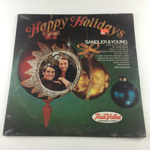 Sandler & Young Happy Holidays Album Eleven Used Vinyl LP M\VG #1