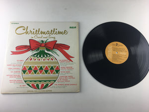Christmastime In Carol And Song Used Vinyl LP VG+\VG PRS-271