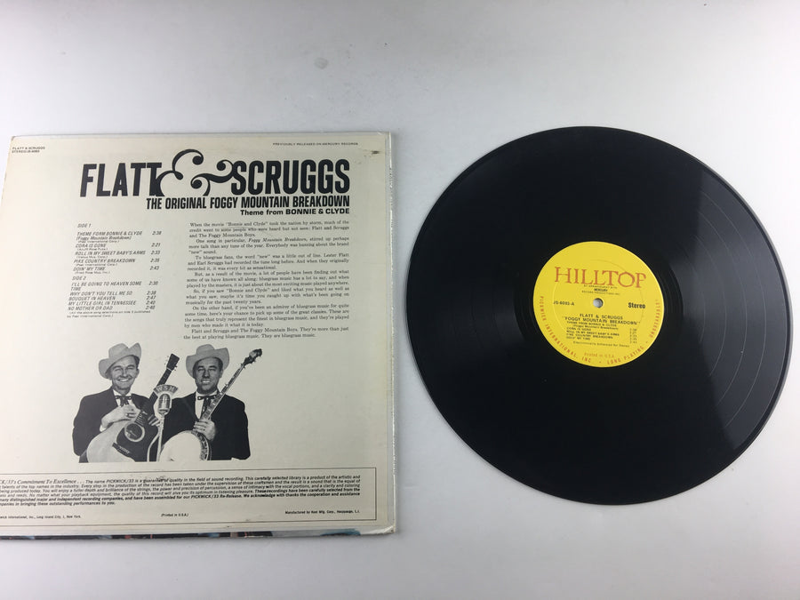 Flatt & Scruggs Foggy Mountain Breakdown Used Vinyl LP VG+ JS-6093