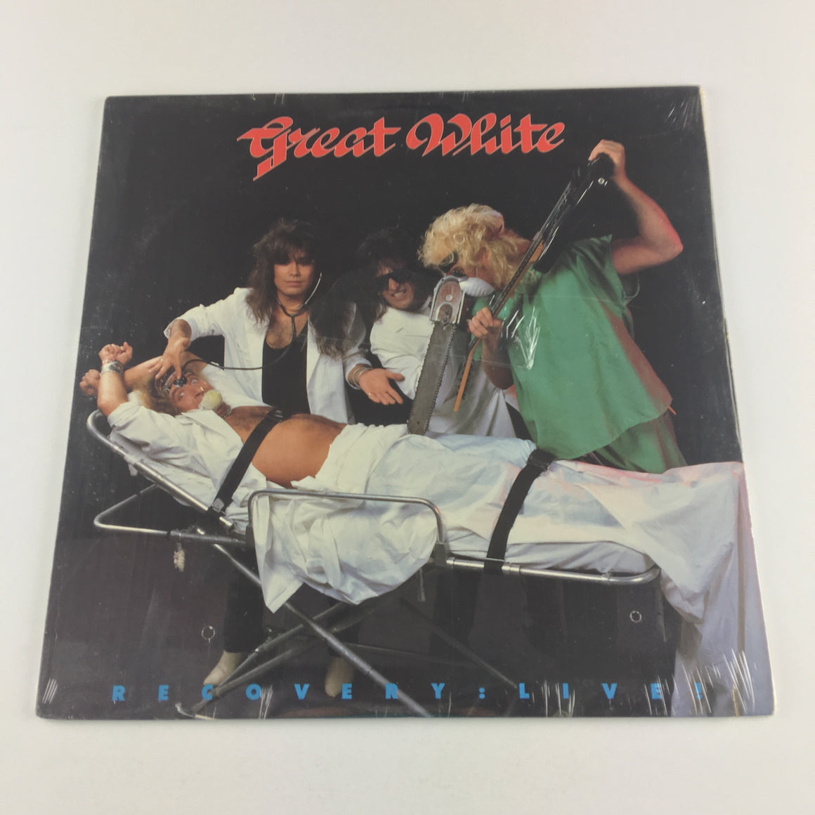 Great White ‎– Recovery: Live! Used LP Sealed NM\VG+ DI-73295