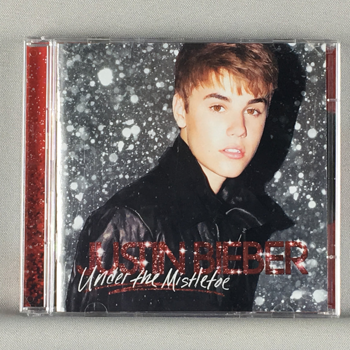 Justin Bieber ‎– Under The Mistletoe - Deluxe Ed Used CD\DVD VG+ B0016255-00