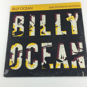 Billy Ocean Emotions In Motion Used Vinyl LP M\VG+ JCI-1122