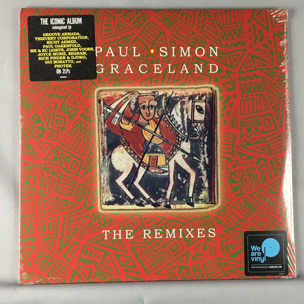 Paul Simon ‎– Graceland (The Remixes) New Sealed LP 19075846611