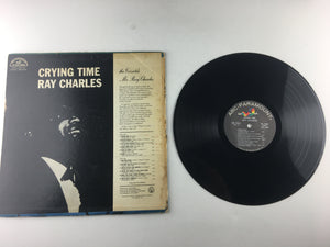 Ray Charles Crying Time Used Vinyl LP G+\G ABC 544
