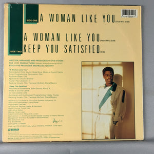 "Otis Stokes ‎– A Woman Like You Orig Press New Sealed 12"" Single"