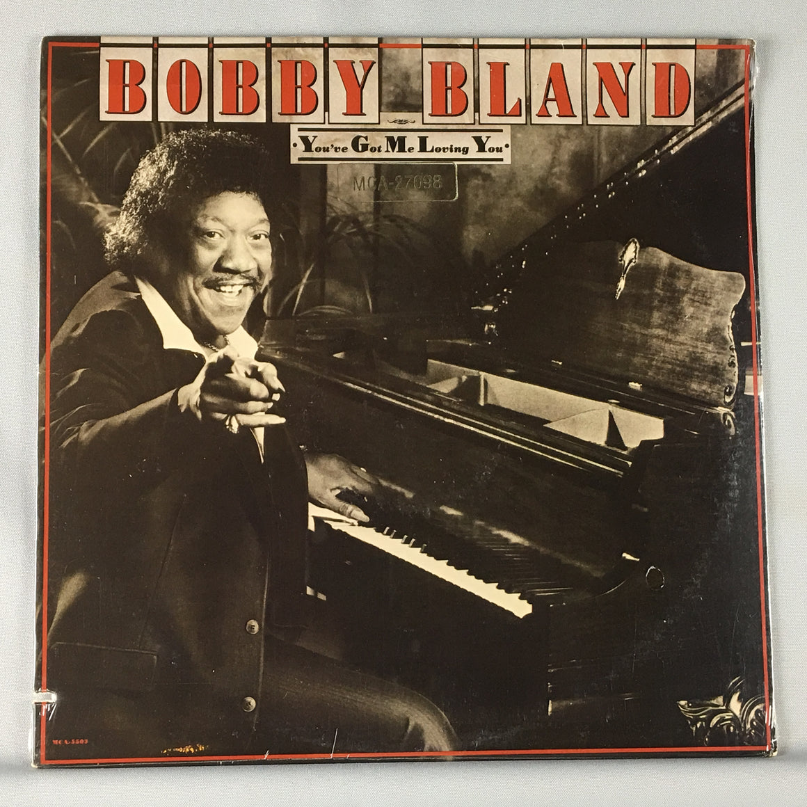 Bobby Bland ‎– You've Got Me Loving You Orig Press New Sealed LP M\VG+ MCA 5503