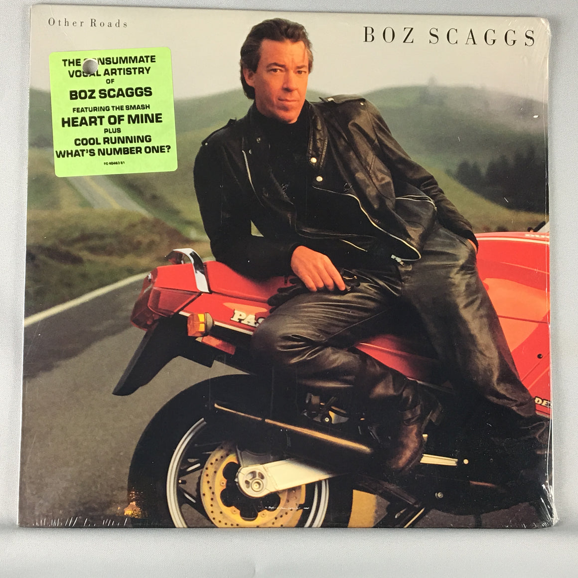 Boz Scaggs ‎– Other Roads Orig Press Used LP M\VG+ FC 40463