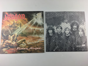 Dragon Fallen Angel Used Vinyl LP VG+ FLAG 48