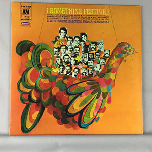 Something Festive! Herb Alpert Baja Marimba Liza Minneli Used LP VG+ SP-19003