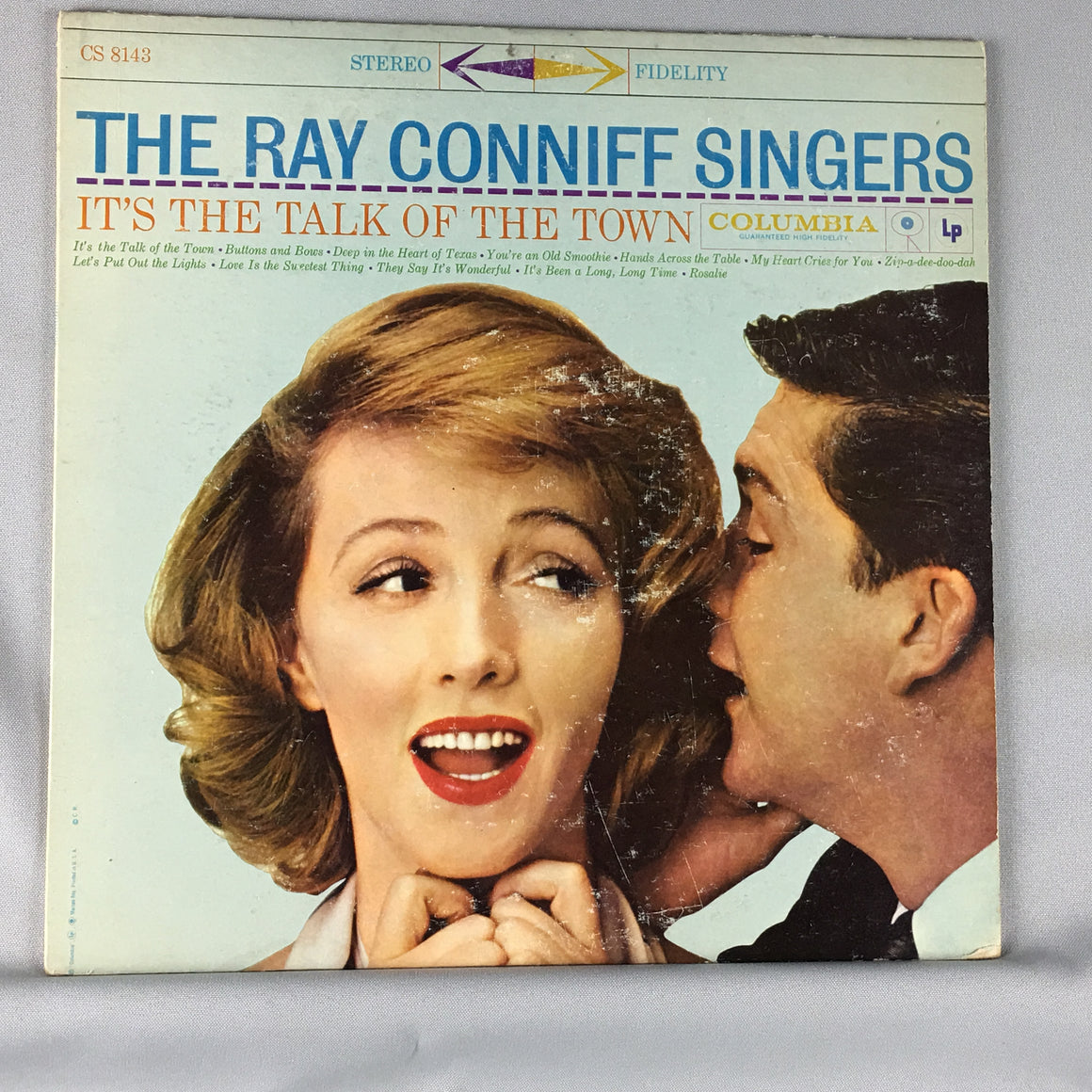 The Ray Conniff Singers ‎– It's The Talk Of The Town Orig Press CS 8143 Used LP VG+/VG