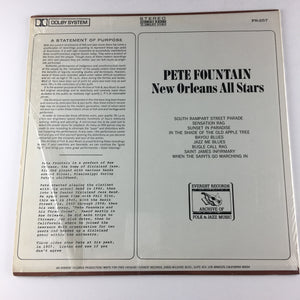 Pete Fountain New Orleans All Stars Used Vinyl LP VG FS-257