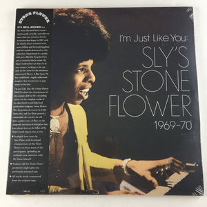 Sly Stone I'm Just Like You: Sly's Stone Flower 1969-70	 New Vinyl 2LP M LITA 121