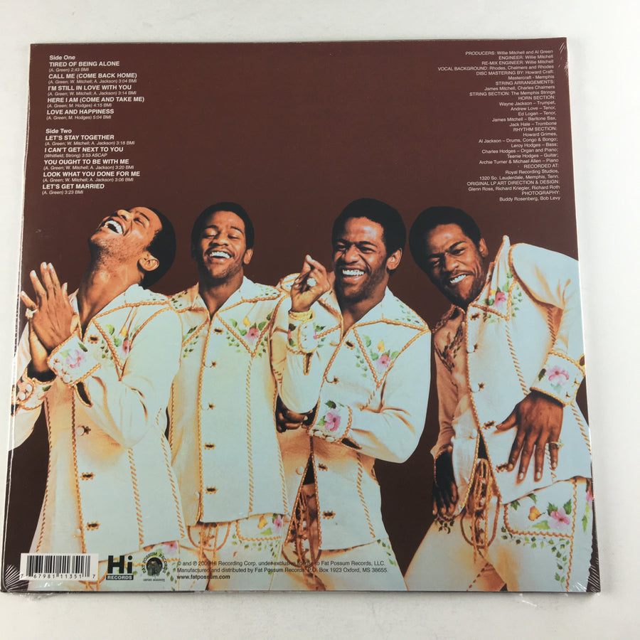 Al Green Greatest Hits New Vinyl LP M FPH 1135