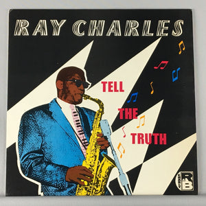 Ray Charles ‎– Tell The Truth - Orig Press - Used LP VG+ CRB 1071