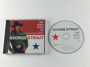 George Strait Latest Greatest Straitest Hits Used CD VG+ 088 170 100-2