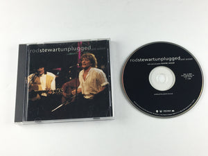 Rod Stewart  Ron Wood Unplugged ...And Seated Used CD VG+ 9 45289-2