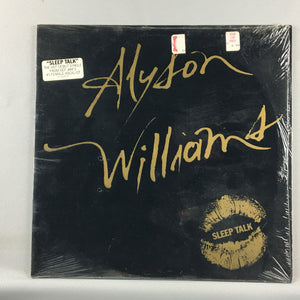 Alyson Williams ‎– Sleep Talk Orig Press Used LP VG+  44 68193 Def Jam