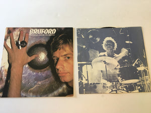 Bruford Feels Good To Me Used Vinyl LP VG+ PD-1-6149