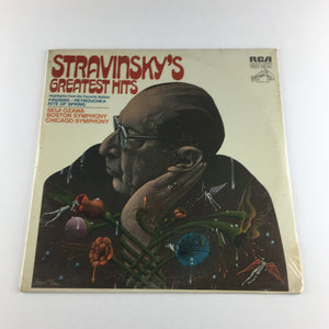 Stravinsky Ozawa Stravinsky's Greatest Hits Used Vinyl LP NM|VG+