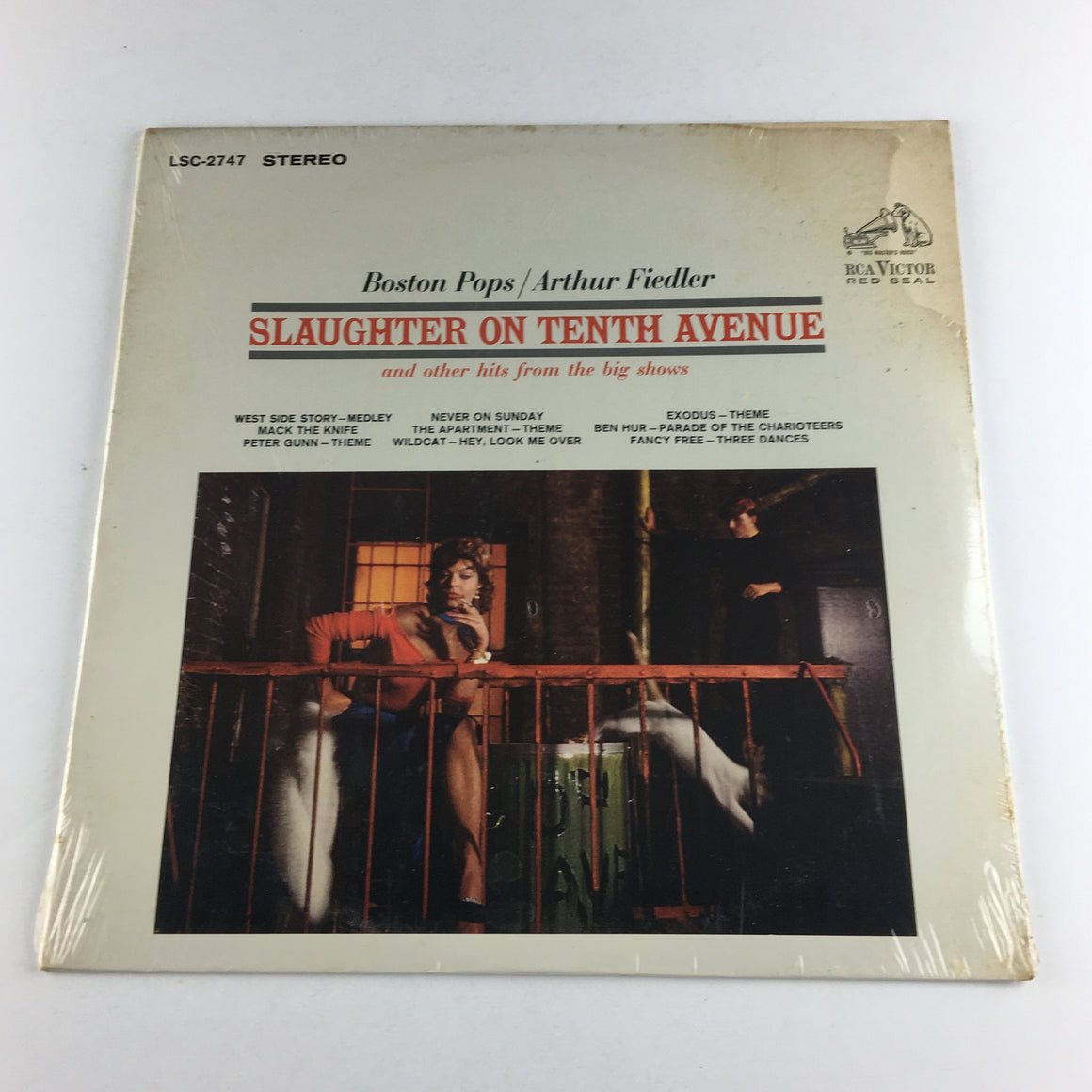Arthur Fiedler Slaughter On Tenth Avenue Used Vinyl LP NM\VG+ LSC-2747