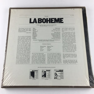 Various, The Metropolitan Opera La Boheme New Vinyl Box Set NM Y2 32364