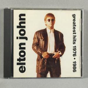 Elton John ‎– Greatest Hits 1976-1986 - Orig Press Used CD VG+ MCAD-10693