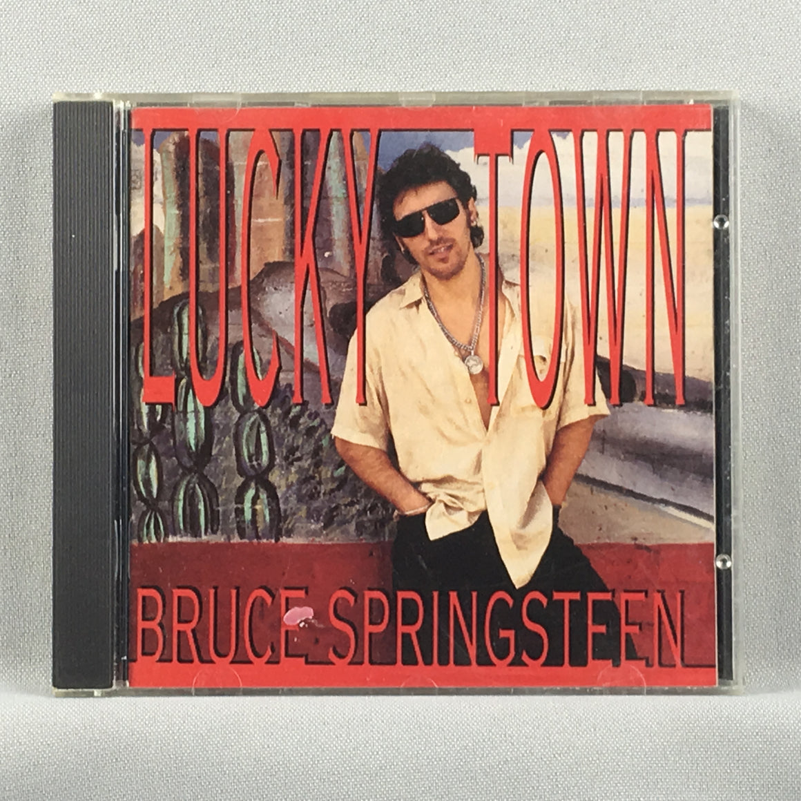 Bruce Springsteen ‎– Lucky Town - Orig Press Used CD VG+ CK 53001