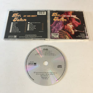 Dr. John At His Best Used CD VG+ SCD 4814