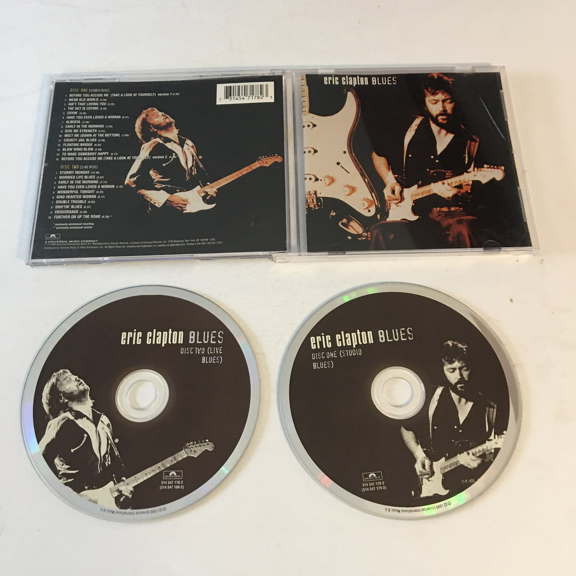 Eric Clapton Blues Used CD VG+ 314 547 178-2
