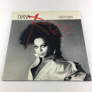 Diana Ross Swept Away Used Vinyl LP VG+ AFL1-5009