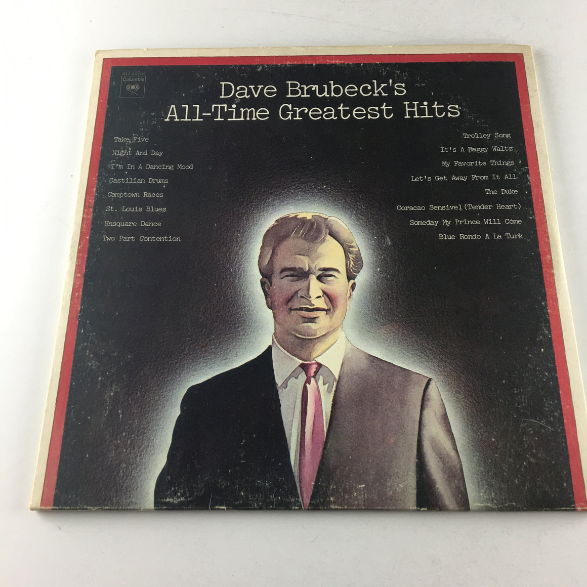 Dave Brubeck's All-Time Greatest Hits Used Vinyl 2LP VG PG 32761, KG 32761