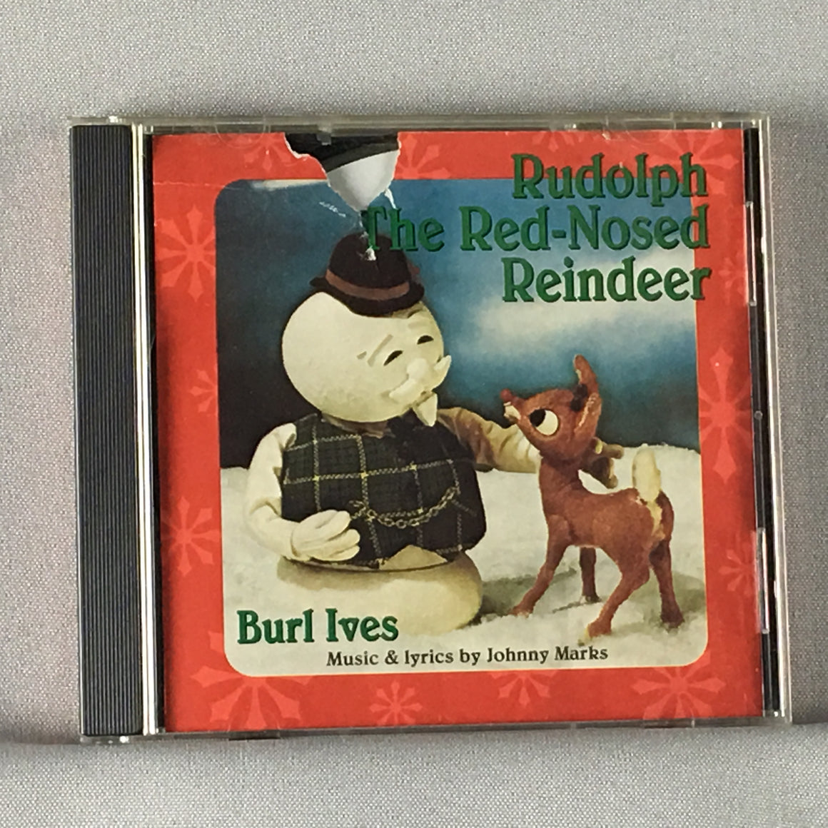 Burl Ives ‎– Rudolph The Red-Nosed Reindeer Used CD VG MCAD-22177