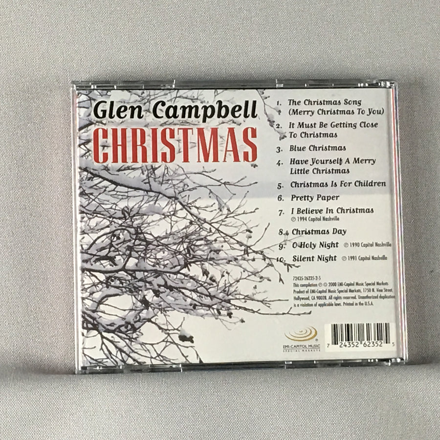 Glen Campbell Christmas Used CD VG+ 724352623525