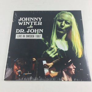 Johnny Winter with Dr. John Live In Sweden 1987 New Vinyl LP M MVD8129LP, none
