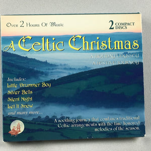 Celtic Christmas: Holiday Odyssey & Festive Journey Used 2CD Set Used VG+