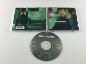 Tim McGraw A Place In The Sun Used CD VG D2-77942