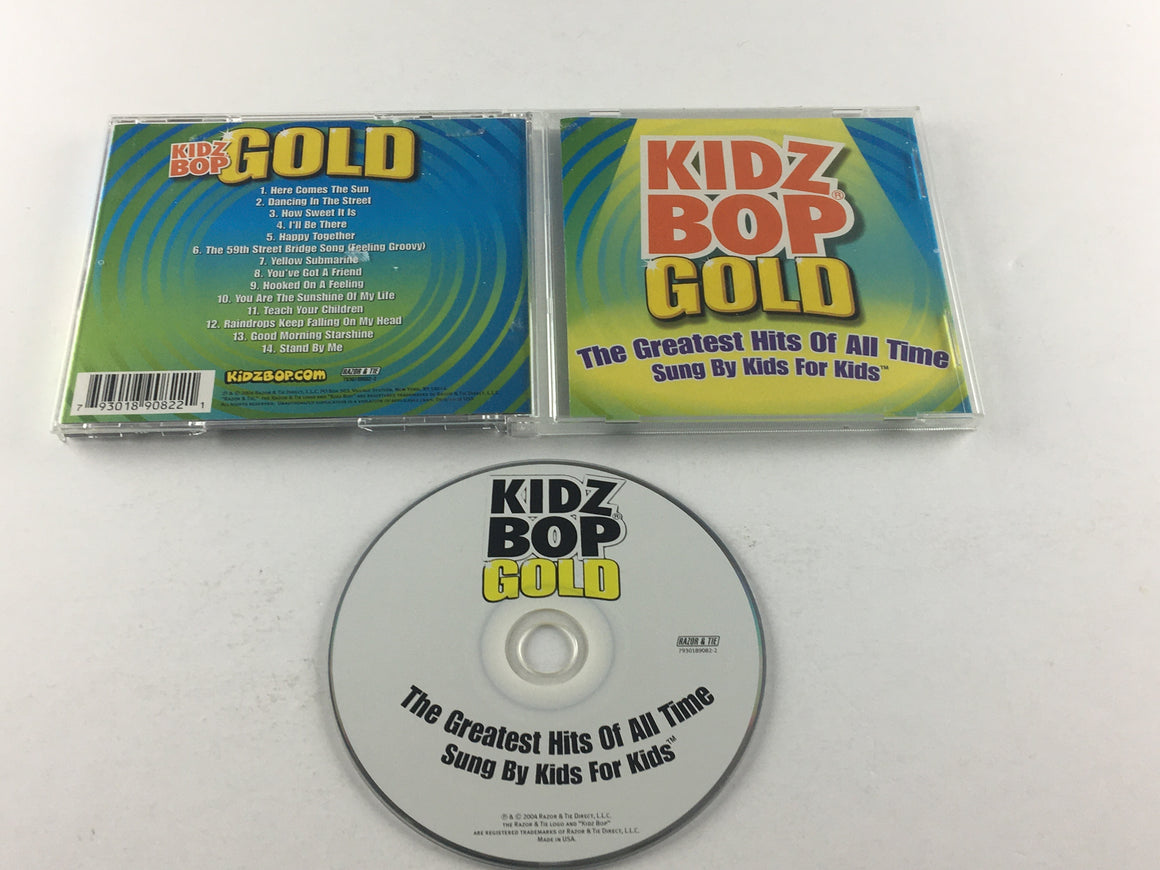 Kidz Bop Kids Kidz Bop Gold Used CD VG+ 7930189082-2