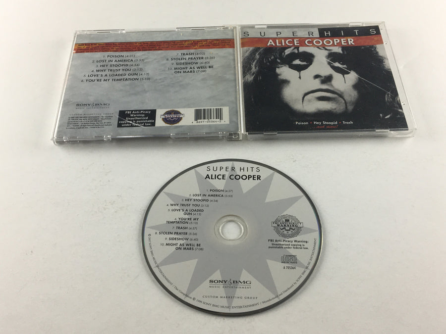 Alice Cooper Super Hits Used CD VG A 705364