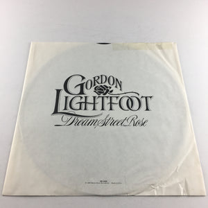 Gordon Lightfoot Dream Street Rose Used Vinyl LP VG+ HS 3426