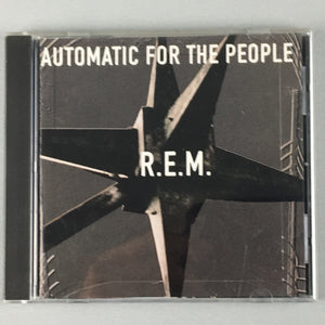 R.E.M. ‎– Automatic For The People Orig Press Used CD VG+ 9 45055-2
