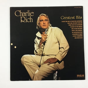 Charlie Rich ‎– Greatest Hits Orig Press Used LP VG+ APL1-0857