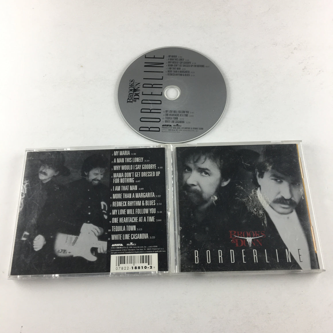 Brooks & Dunn Borderline Used CD VG 07822-18810-2
