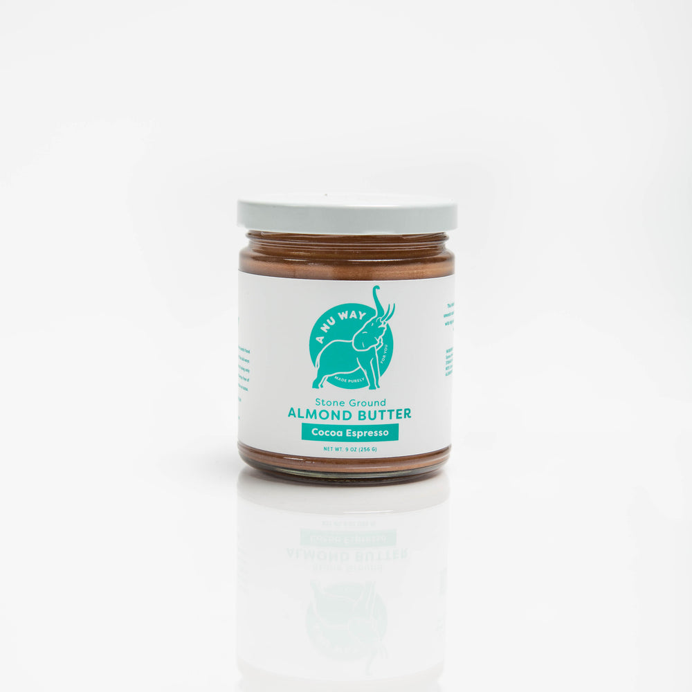Stone Ground Almond Butter - Cocoa Espresso